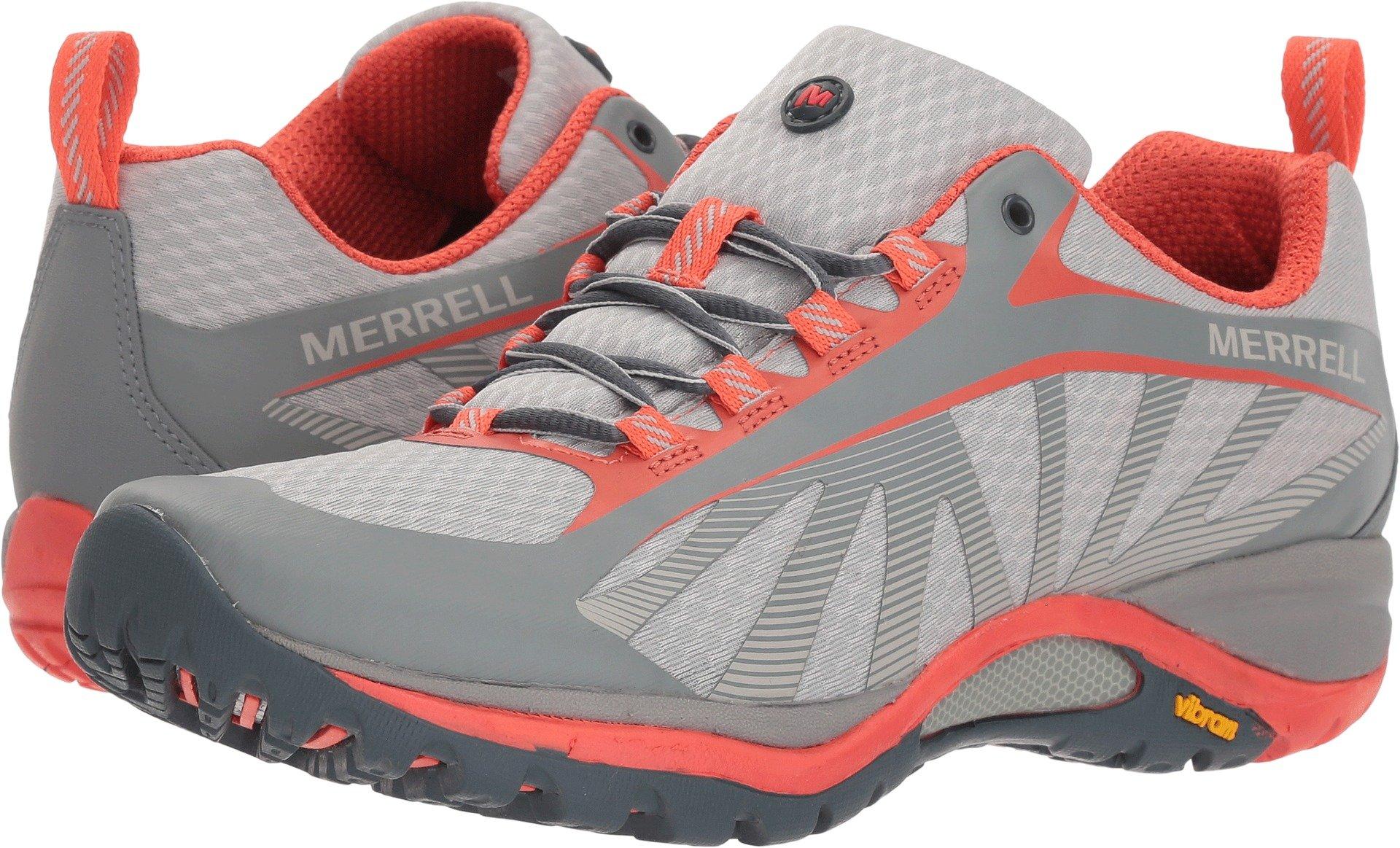 Merrell Womens Siren Edge Trail Runner, Vapor, 6 B(M) US