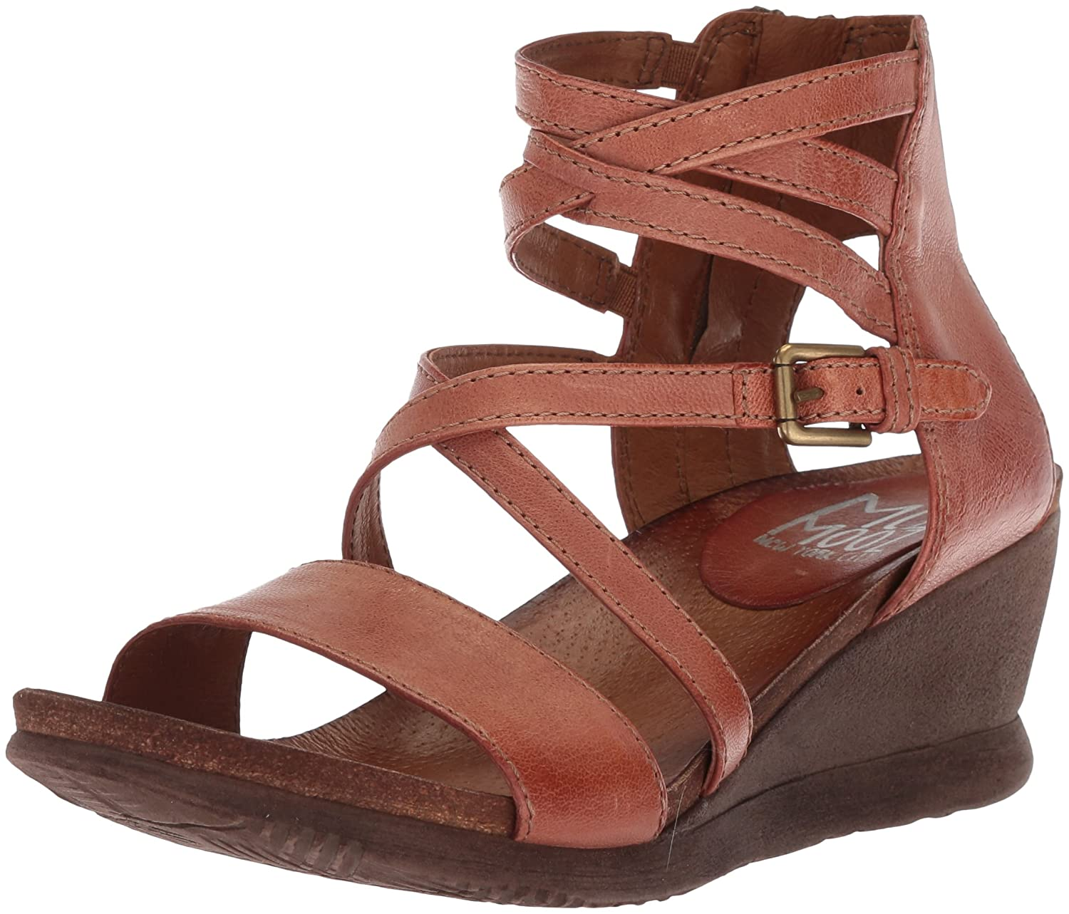 Hazelnut Miz Mooz Women's Shay Fashion Sandals