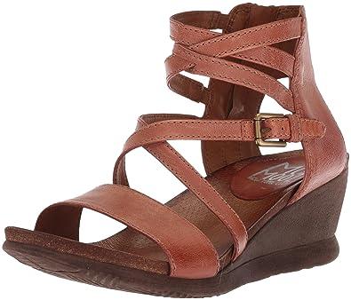 Miz Mooz Women's Shay Sandal, Hazelnut, ...