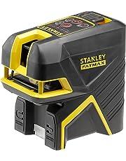 STANLEY FMHT1-77415 - Nivel láser de linea cruzada + 5 puntos, alcance 15 m