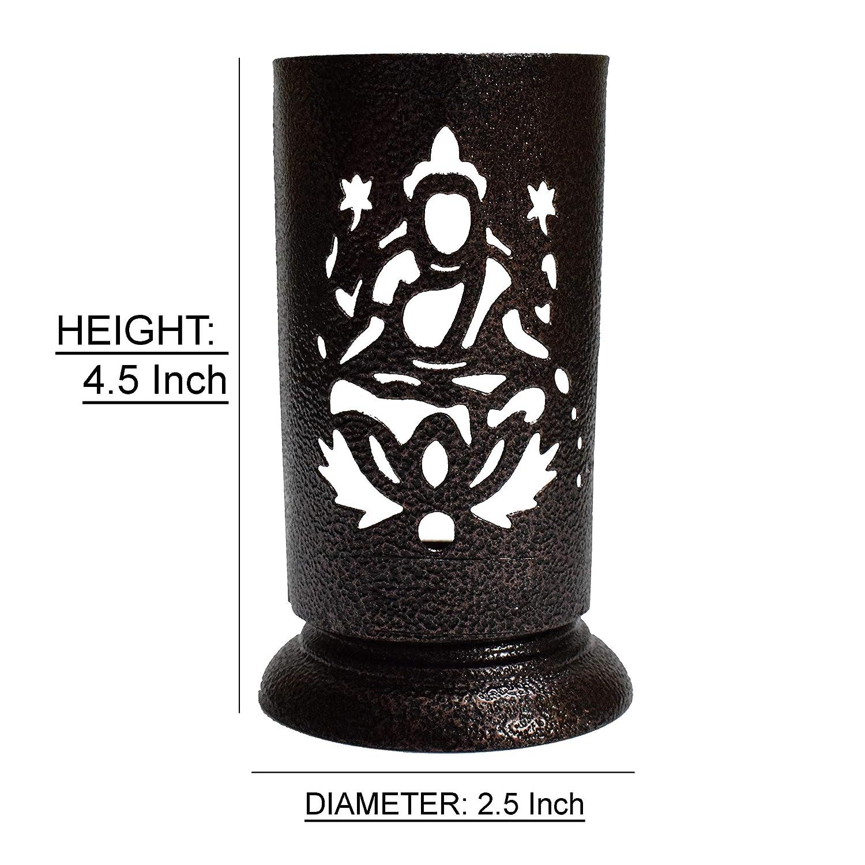 4X Bot/ón para potenci/ómetro para Eje moleteada 6mm /Ø10x19mm Color Negro y Verde C12587 AERZETIX