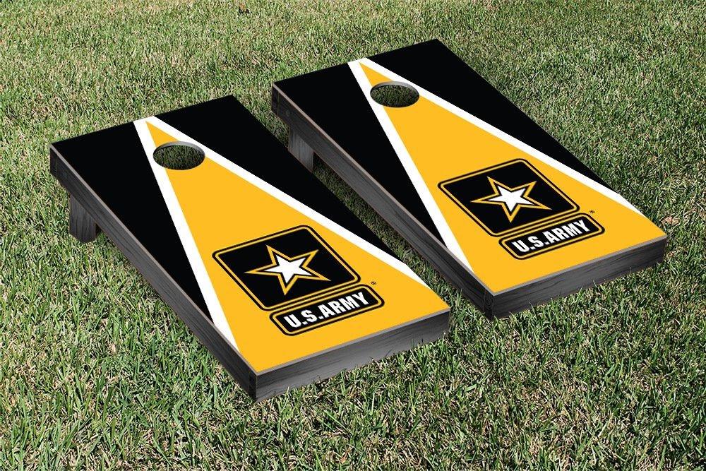 US Army Go Army Cornhole Game Set Triangle Version