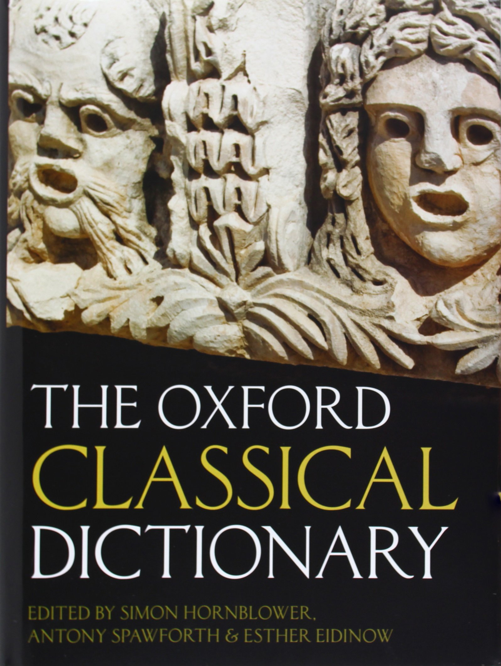 Oxford Classical Dictionary Cover Art