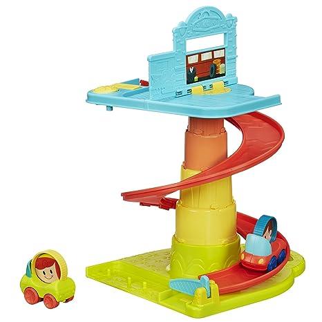 Amazon Com Playskool Pop Up Rollin Ramp Toys Games