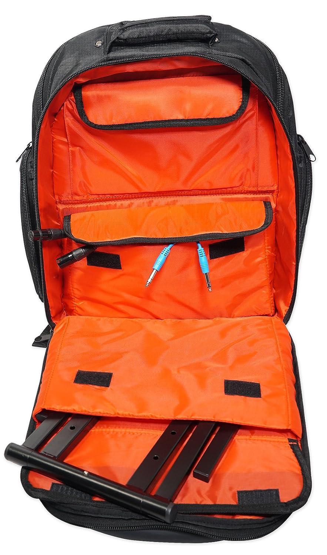 Rockville Travel Case Backpack Bag For Mackie Profx8v2 Mixer Profx8 V2 Rvbackpack