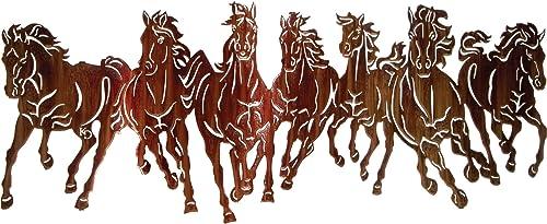 Thirstystone Thunderstorm Running Horses Wall Art, 40-Inch