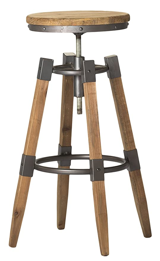 Prime Moes Home Collection Quad Pod Adjustable Bar Stool Natural Evergreenethics Interior Chair Design Evergreenethicsorg