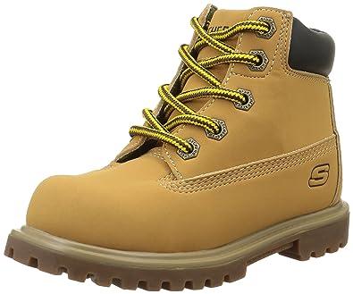 Zapatos beige Skechers Mecca infantiles fsgm6U