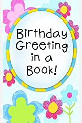 Birthday Greeting in a Book! Kindle Edition