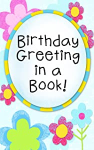 Birthday Greeting in a Book!