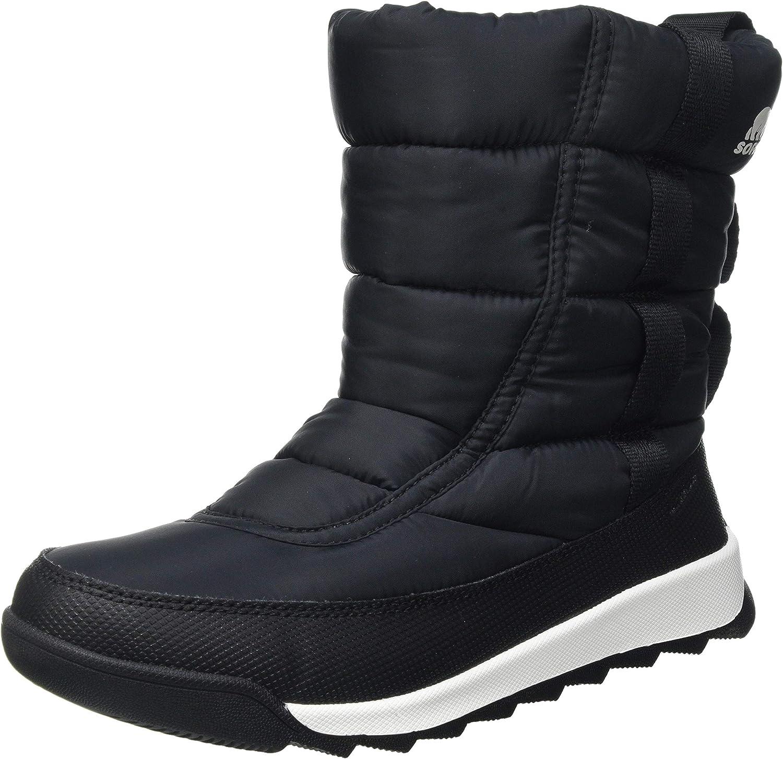 Sorel Kids Whitney II Puffy Mid (Toddler/Little Kid/Big Kid) Black: Shoes