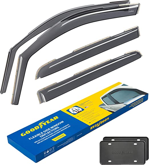 GELLY PLAST 10 352 Front and Rear Wind Deflectors