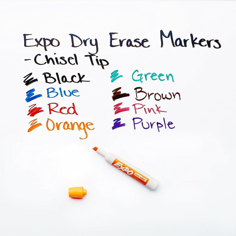 Expo low-odor Dry Erase set colori assortiti 5-Piece Set Assortito punta a scalpello