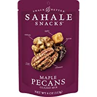 Sahale Snacks Maple Pecans Glazed Mix, 4 oz. – Nut Snacks in a Resealable Pouch, No Artificial Flavors, Preservatives or…