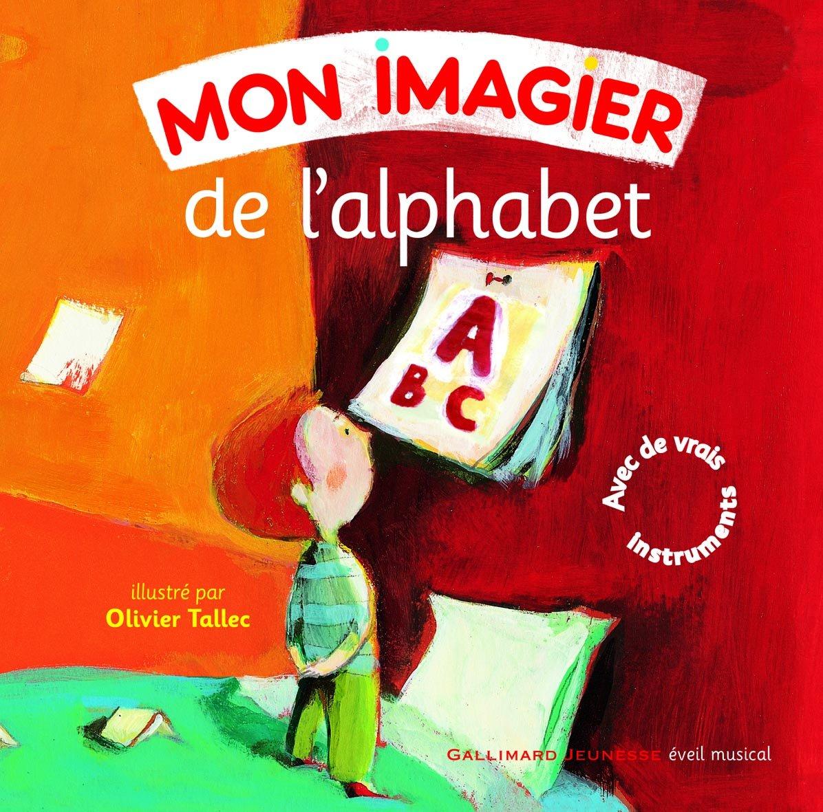 Mon imagier de l'alphabet (1CD audio)