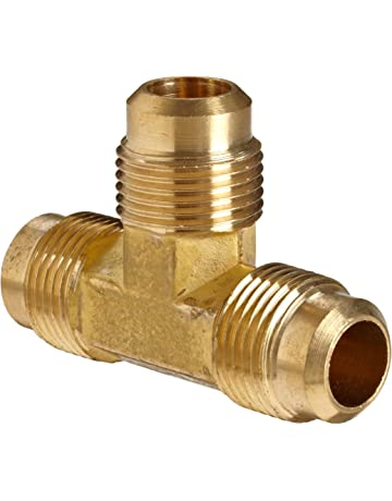 500d77b9f Anderson Metals Brass Tube Fitting, Flare Tee, 1/2