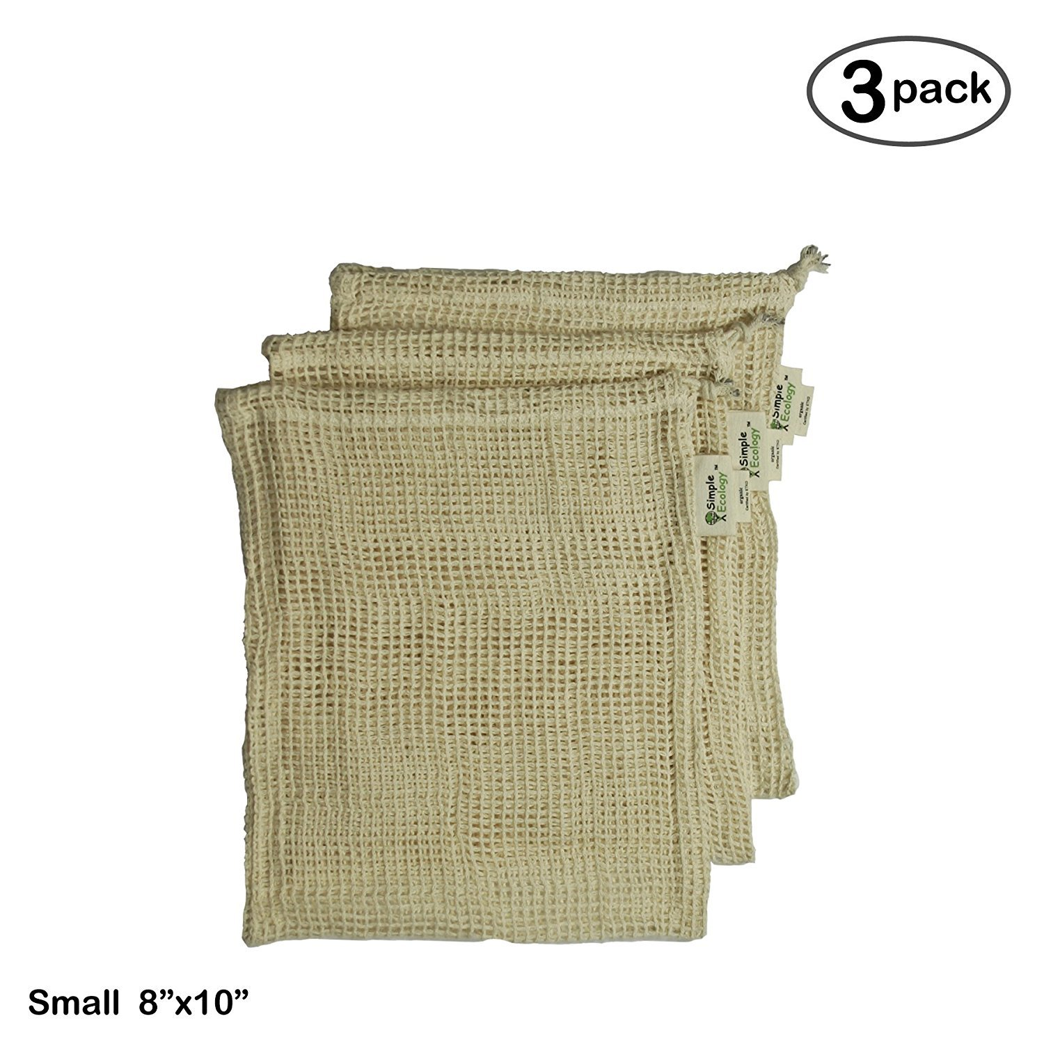 Simple Ecology Organic Cotton Mesh Produce BagSmall by Simple Ecology B01BXII2T8 S (8