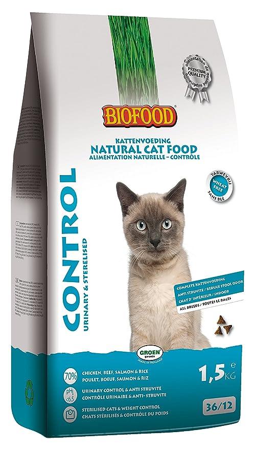 biofood – Pienso gato Control 1.5 kg