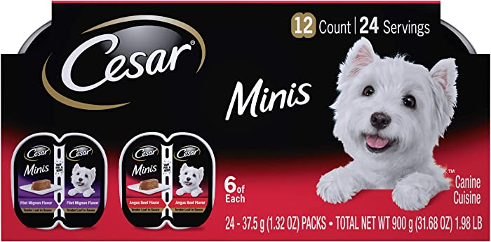 Top 9 Cesar Filet Dog Food