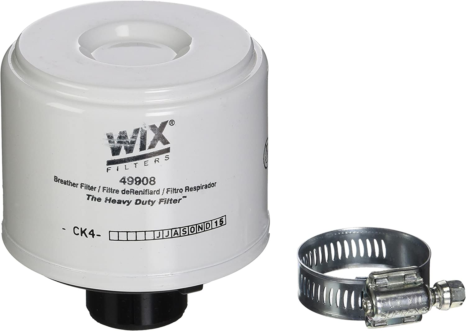 WIX Filters 49908 Heavy Duty Breather Filter Pack of 1