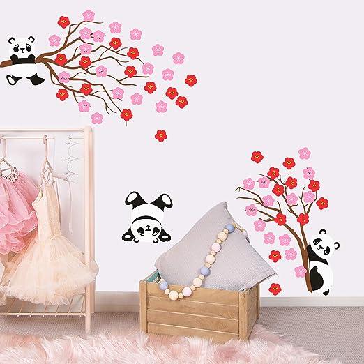 Bedroom Nursery Or Playroom Kids Clock 3D Wall Decal Decoration Bear