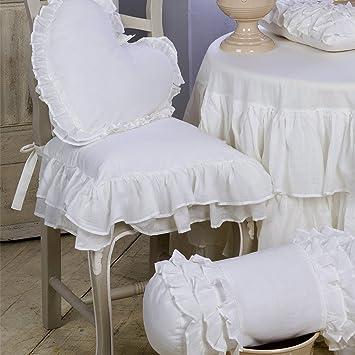 Coussin De Chaise Galette Shabby Chic Et Romantique