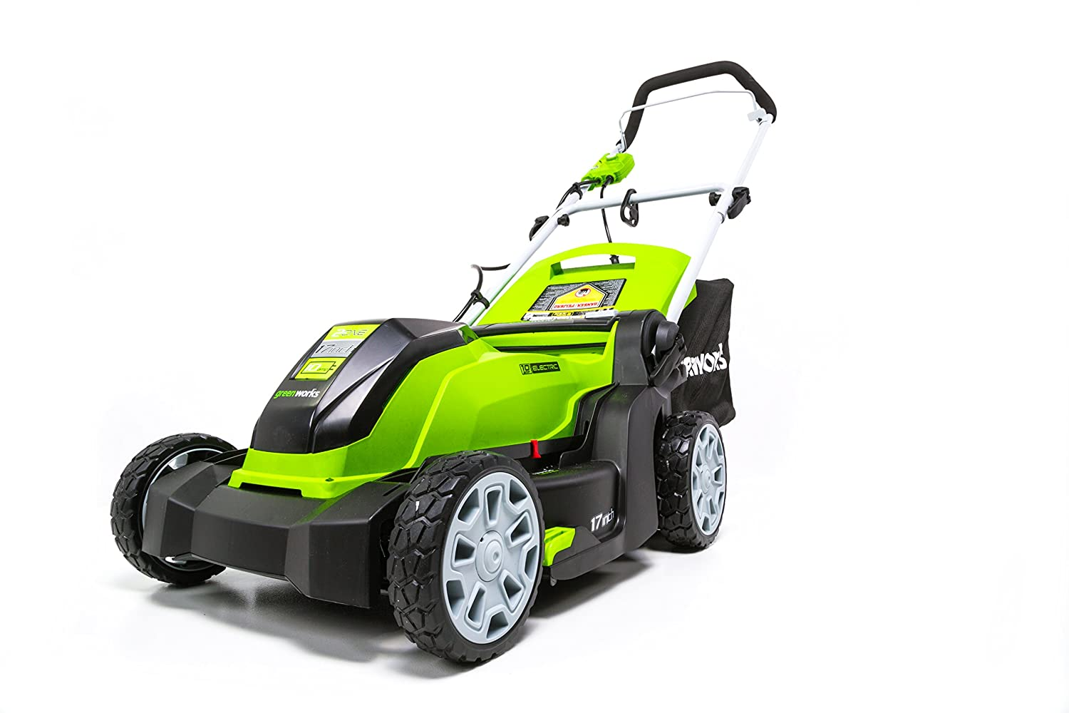 Greenworks 17-Inch 10 Amp Corded Lawn Mower MO10B00