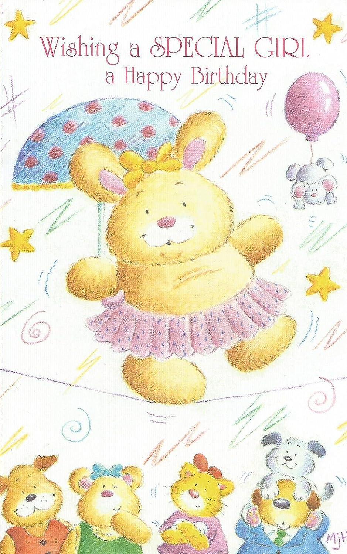 Amazon.com: Wishing una niña un feliz cumpleaños especial (1 ...