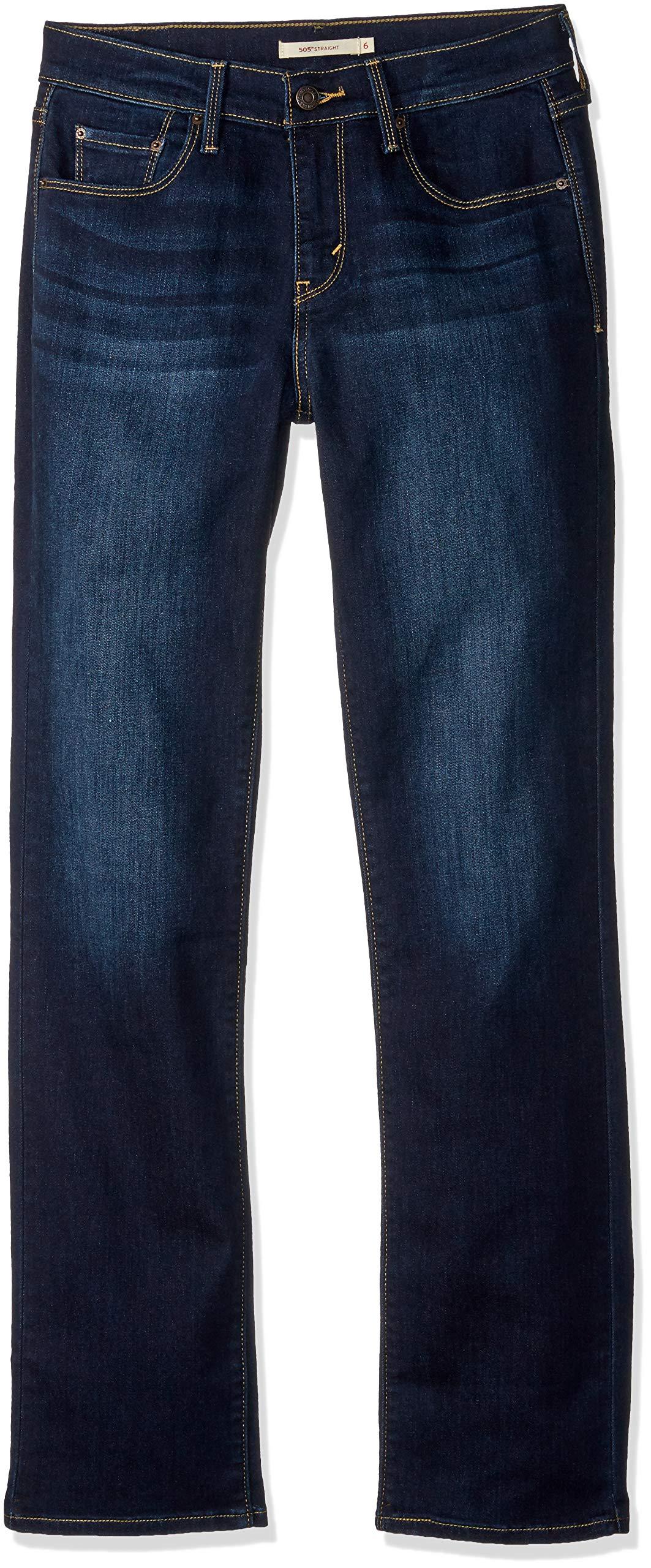 Levi's Women's 505 Straight-Leg Jean, Legacy, 28/6 Medium