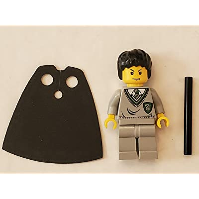LEGO Harry Potter Minifig Tom Riddle Slytherin Torso Light Gray Legs: Toys & Games