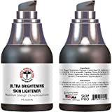 Medical Grade Hydroquinone Rapid Skin Lightener | Maximum Strength Dark Spot Corrector and Melasma Treatment | Ultra Brightening Formula by SkinPro Skin Care Science