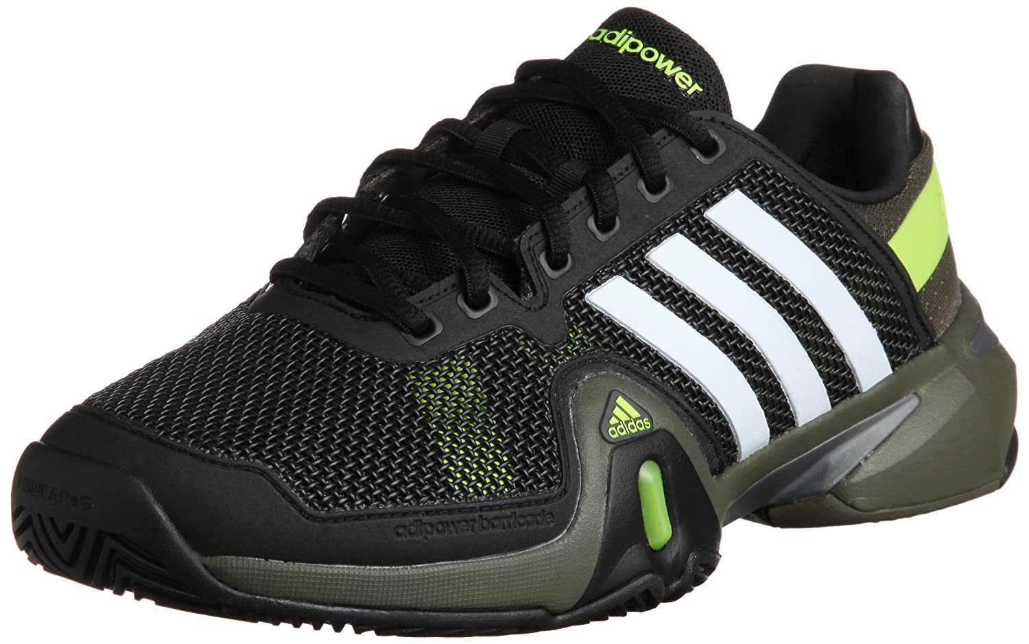 newest 1d0c7 6aa77 Adidas Adipower Barricade 8 Tennis Shoes - 6  Amazon.co.uk  Shoes   Bags