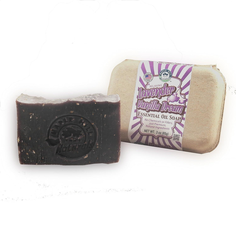 Maple Hill Naturals Lavender Vanilla Dream Essential Oil Soap Value Pack
