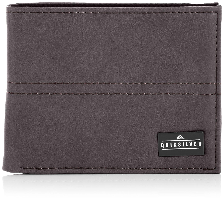 Quiksilver Stitchy Medium - Cartera para hombre, color Chocolate, talla L: Amazon.es: Zapatos y complementos