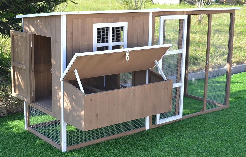 Amazon Com Omitree Large 87 Wood Chicken Coop Backyard Hen