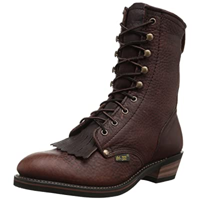 "AdTec Men's 9"" Packer Premium Full Boot, Chestnut, 11 M US | Industrial & Construction Boots"