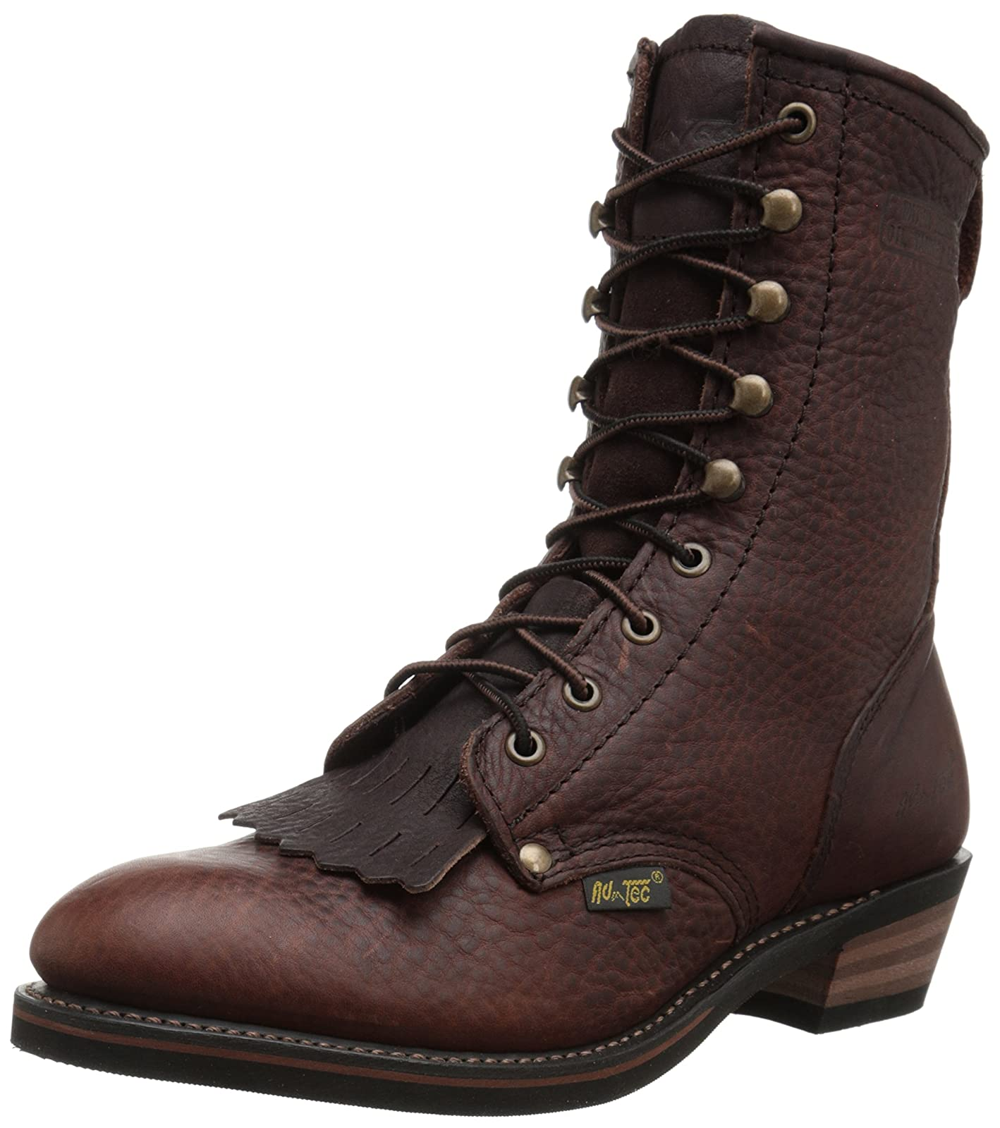 Adtec Men's 9 Inch Packer-M Boot Chestnut 9 M US - 1