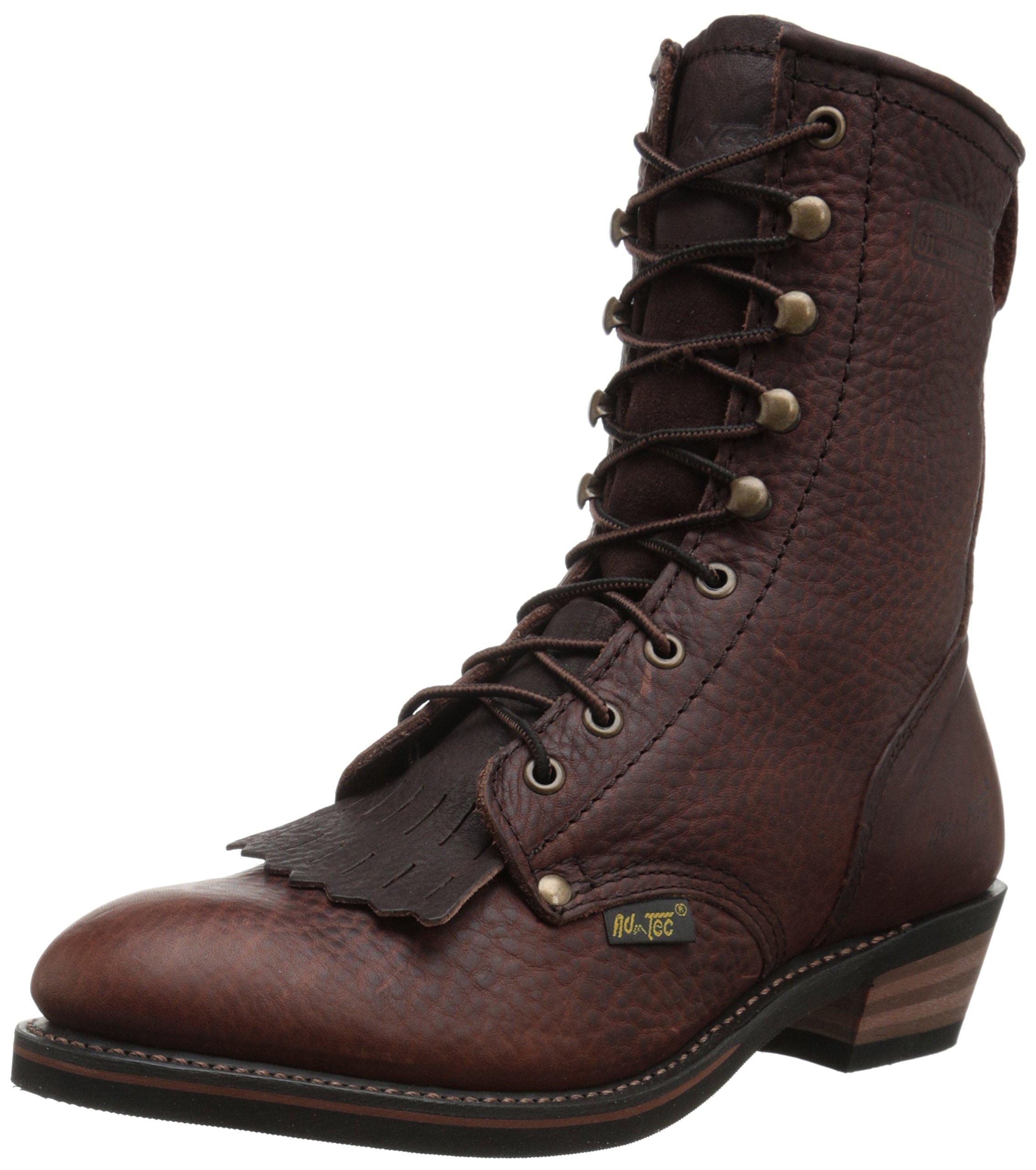 Adtec Men's 9 Inch Packer Boot, Chestnut, 12 M US