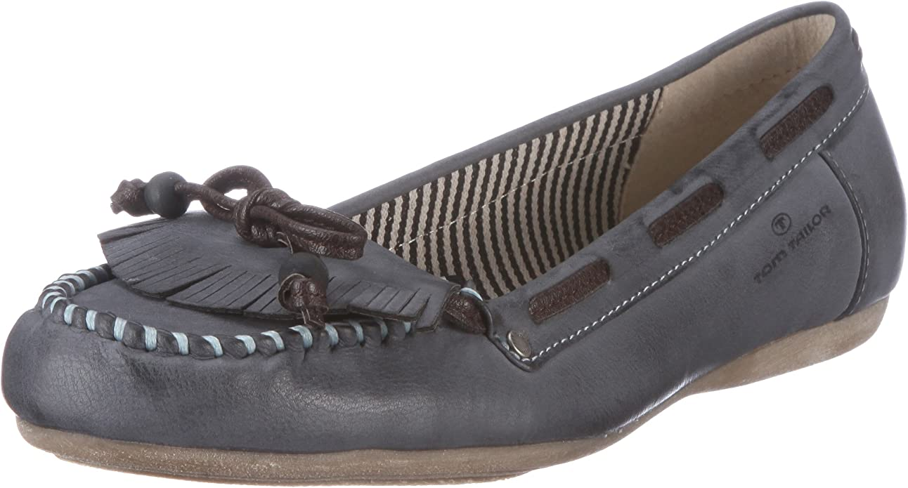 Tom Tailor Penny, Mocasines para Mujer, Azul, 42 EU: Amazon.es ...