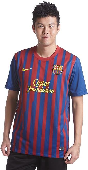 NIKE Barcelona F.C. - Camiseta de fútbol (Réplica), 2011-12, M: Amazon.es: Ropa y accesorios