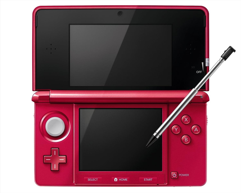 Nintendo 3DS – Metalic Red – Japanese Import Japanese Imported Version – only plays Japanese version games