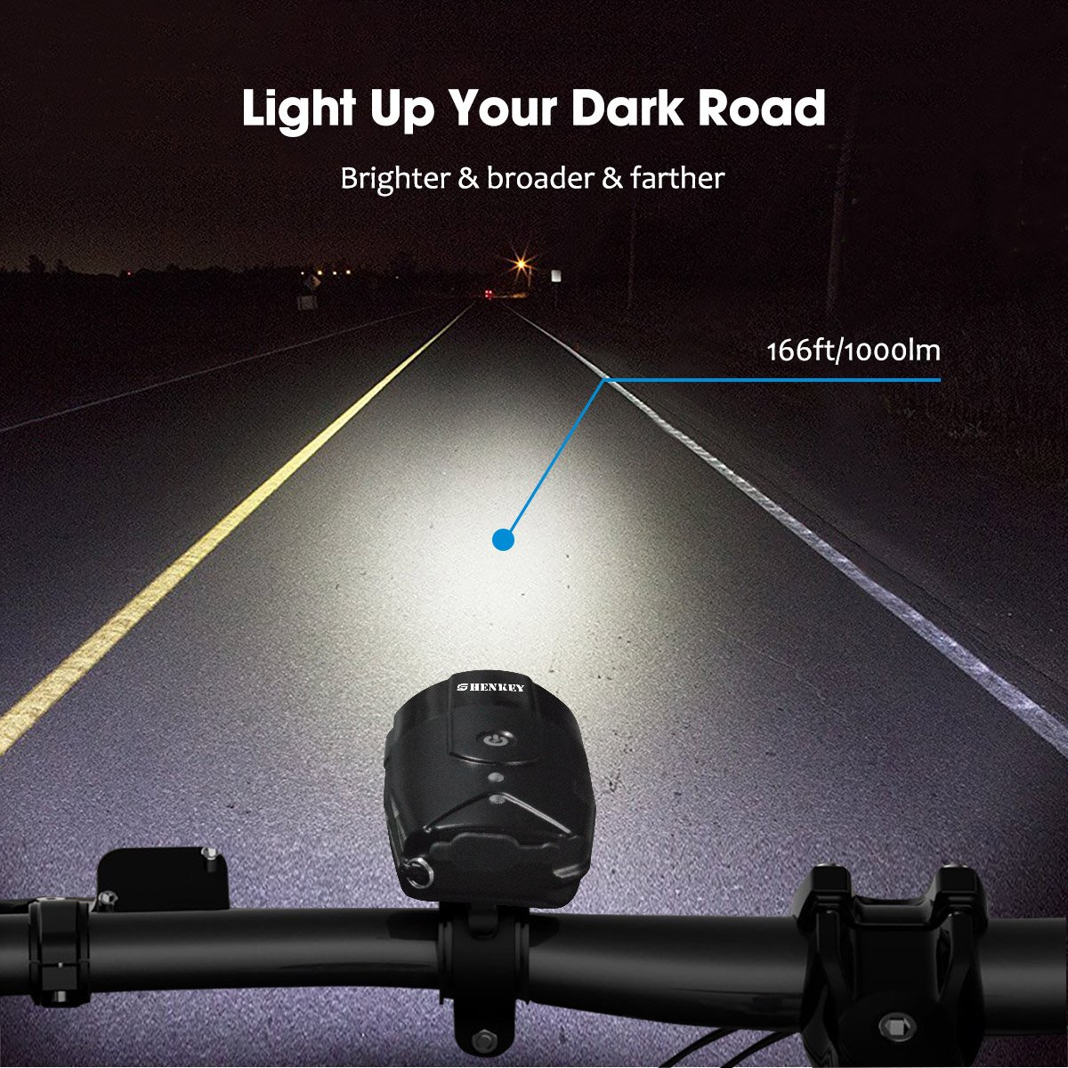 c693685205f Amazon.com   shenkey Bicycle Light