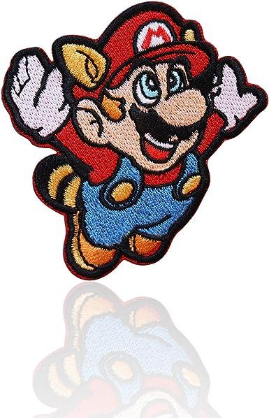 Mario embroidery badge iron on x1