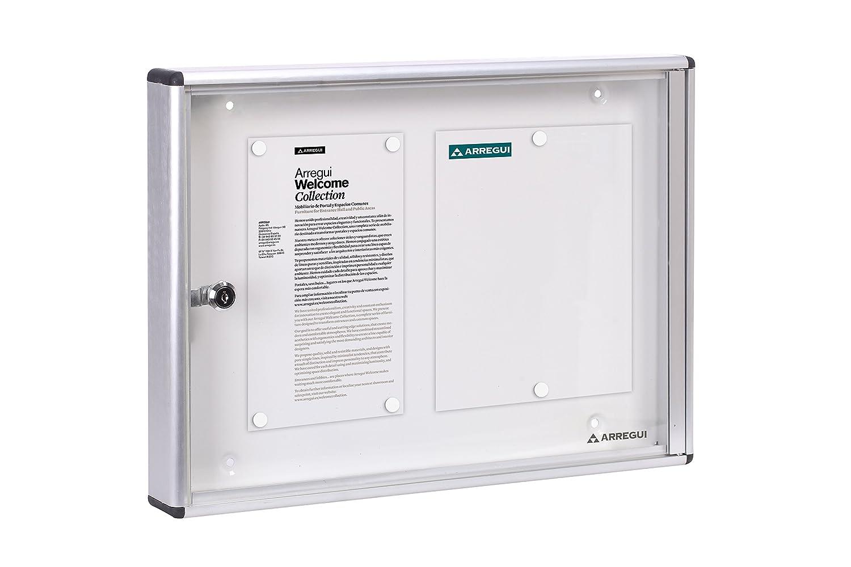Arregui PAN42 Bacheca Porta Avvisi, Alluminio, 35 x 48 cm pan-40