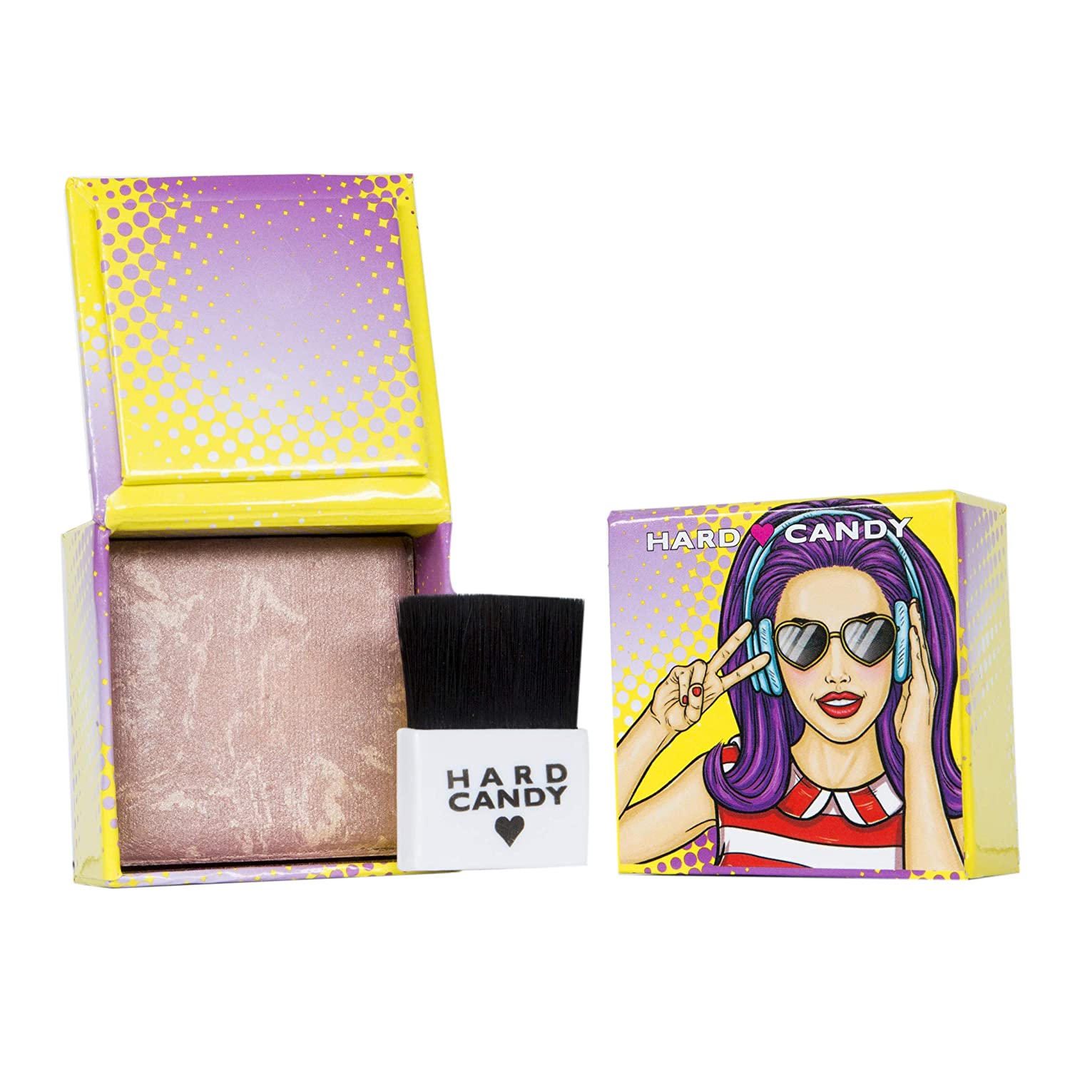 Hard Candy Fox In A Box Bronzer, 1343 Party Girl 0.25 oz / 5.7 g (Pack of 1)