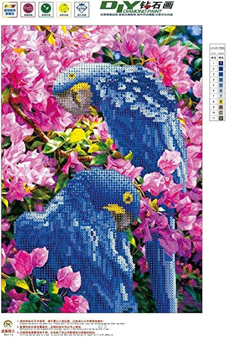 Dog 30x40cm Rhinestone Embroidery Cross Stitch Pictures Arts Craft Home Wall Decor Gift DIY 5D Diamond Painting Kits By Number Full Drill