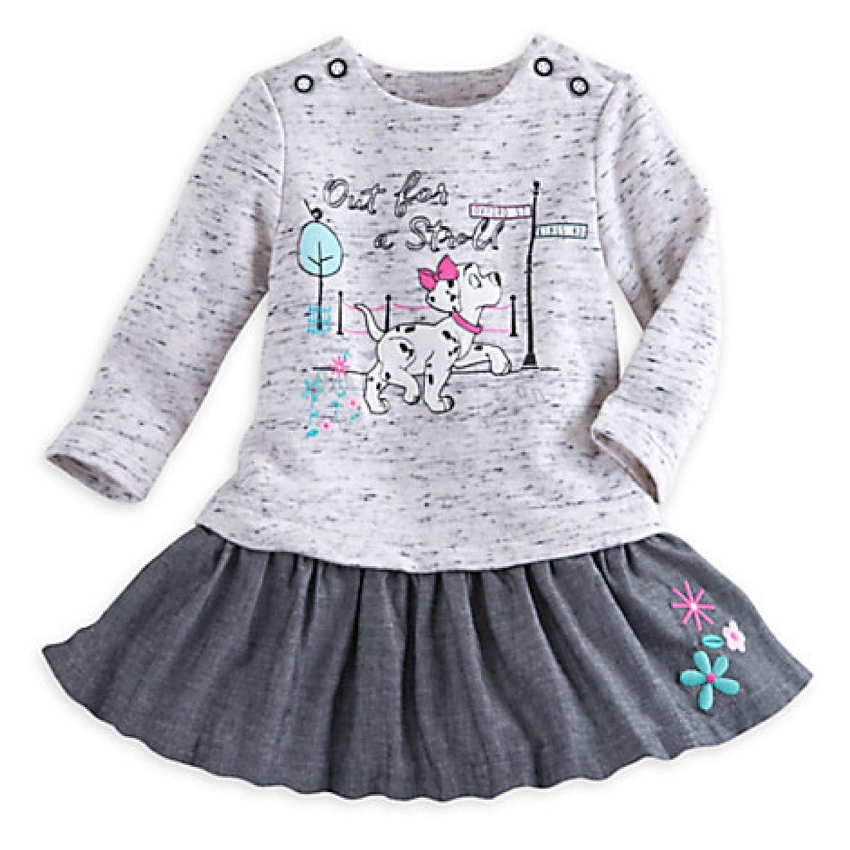 Amazon Disney Baby 101 Dalmatians Knit Dress 12 18 month