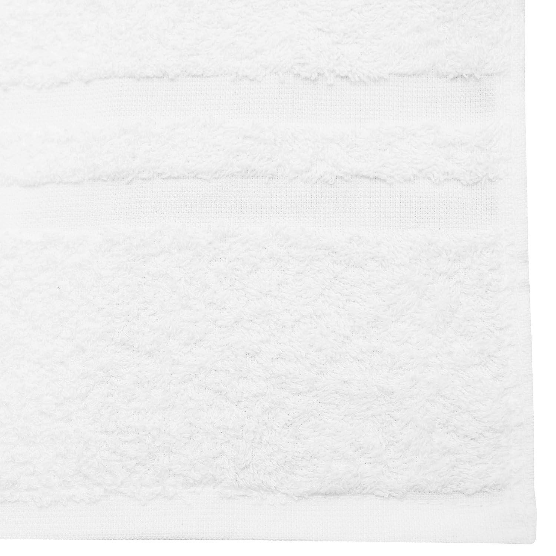 ZOLLNER 2 Toallas de Ducha de Rizo, algodón, 70x140 cm, Blancas: Amazon.es: Hogar