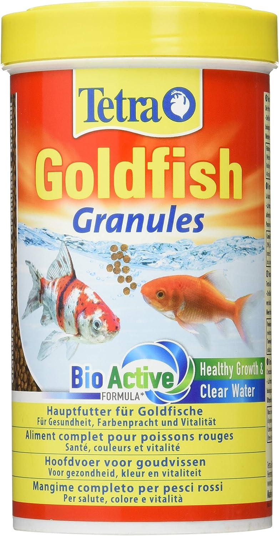 Tetra Goldfish - Alimento completo granulado flotante para peces rojos–500ml