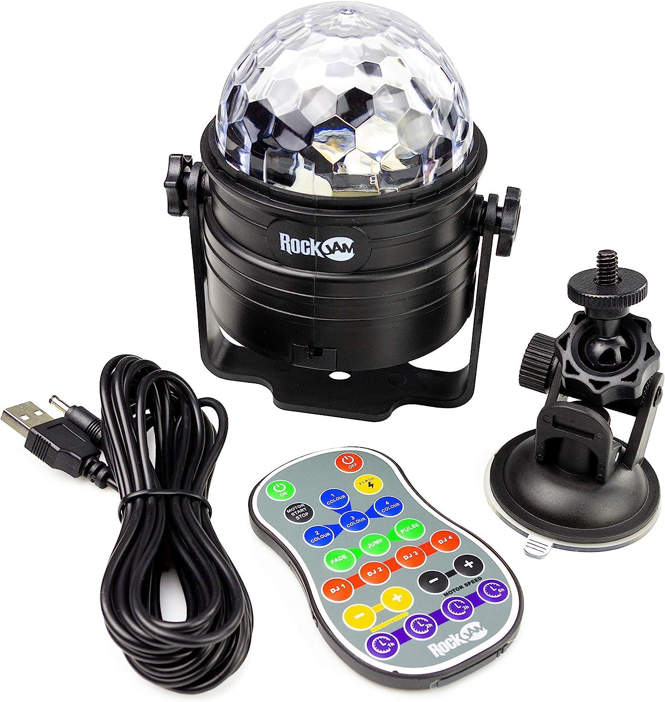 Luces de discoteca LED recargables e inalámbricas de 6 vatios ...